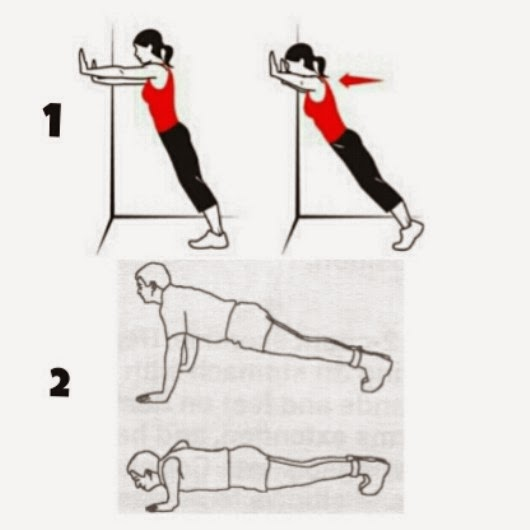 بالصور تمارين سهلة و فعالة لشد الصدر